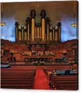 Mormon Meeting Hall Canvas Print