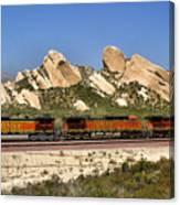 Mormon Rocks California Canvas Print
