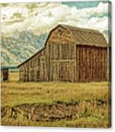 Mormon Row Barn No 3 Canvas Print