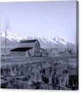 Mormon Row Canvas Print