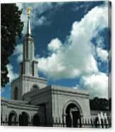 Mormon Temple Folsom Ca Canvas Print