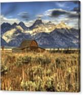Mormons Row Barn Canvas Print