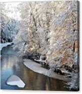 Morning After Snowfall Canvas Print