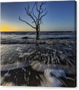 Morning At Botany Bay Plantation Canvas Print