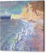 Morning At Etretat Canvas Print