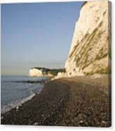 Morning At The White Cliffs Of Dover Canvas Print