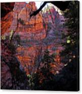 Morning At Zion National Park Canvas Print