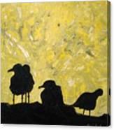 Morning Birds Canvas Print