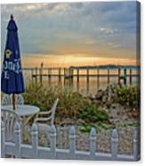 Morning By The Bay Canvas Print