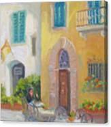 Morning Cappuccino Canvas Print