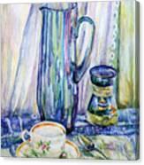 Morning Coffee. Canvas Print