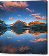 Morning Colors At Ice Field Center Canvas Print