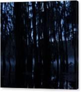 Morning Cypress Mist Canvas Print