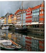 Morning Danish Canvas Print