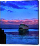Morning Ferry Canvas Print