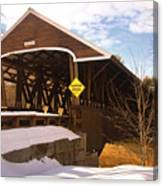 Morning Finds The Rowell Bridge Canvas Print