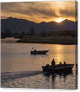 Morning Fishing 4 Canvas Print