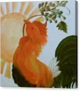 Morning Greeting Canvas Print