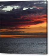 Morning Horizon Canvas Print