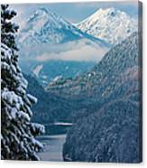 Morning In Bavaria Canvas Print