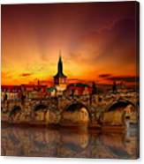 Morning In Prague Canvas Print
