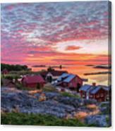 Morning In The Archipelago Sea Canvas Print