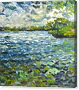 Morning Light At Lake Ida Canvas Print
