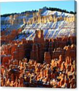 Morning Light At Sunset Point In Bryce Canyon Canvas Print