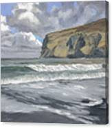 Morning Light On Pencannow Point Canvas Print