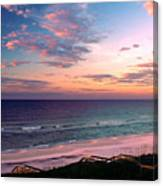 Morning Light On Rosemary Beach Canvas Print