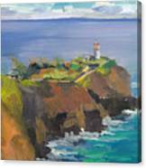 Morning Lighthouse Canvas Print
