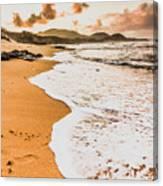 Morning Marine Wash Canvas Print