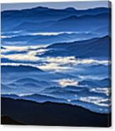 Morning Mist In The Smokies Canvas Print