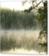 Morning Mists Canvas Print