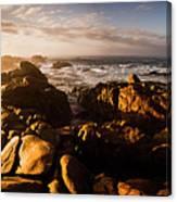 Morning Ocean Panorama Canvas Print