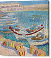 Morning  On Cyprus .2003 Canvas Print