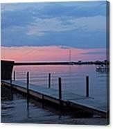 Morning On Lake Huron Canvas Print