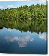 Morning On Lincoln Pond Canvas Print