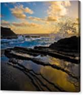 Morning On Oahu Hawaii Canvas Print