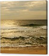 Morning On The Beach - Jersey Shore Canvas Print