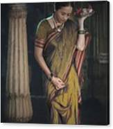 Morning Pooja Canvas Print