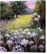 Morning Praises Canvas Print