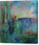 Morning Prayer Canvas Print