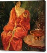 Morning Reflections 1910 Canvas Print