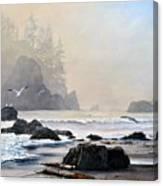 Morning Shore Canvas Print