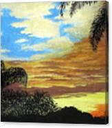 Morning Sky Canvas Print