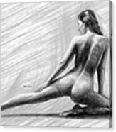 Morning Stretch Canvas Print