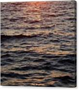 Morning Sun On The Water Canvas Print