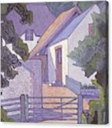 Morning, The South Downs By Robert Polhill Bevan Canvas Print