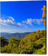 Early Fall Morning View Canvas Print
